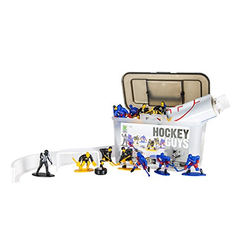 Kaskey Kids Hockey Guys: Rangers vs. Bruins - Inspires Imagination with Open-Ended Play - Includes 2 Full Teams and More - For Ages 3 and Up by Kaskey Kids