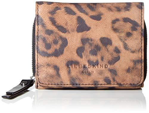 Liebeskind Berlin Damen Dive Bag 2 Leo - Pablita Wallet Medium Geldbörse, Braun (Tiger's Eye), 3x9x12 cm