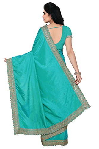 Applecreation-Womens-Silk-Saree-GreenRbt1005Free-Size