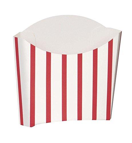 d Schnell 8Snack Container–Retro Schnell Hot Lebensmittel Van/Picknick/rot & weiß Streifen # 90683 (Gesunde Halloween Snacks)