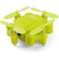 Mini RC Quadcopter UAV WiFi 720P cámara Drone RC Quadcopter 2.4GHz 4CH giroscopio de 6ejes 3d FPV RC Quadcopter, amarillo, talla única