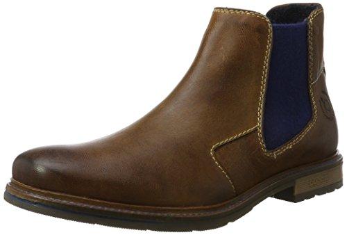Bugatti Herren 321344303200 Chelsea Boots, Braun (Cognac), 46 EU