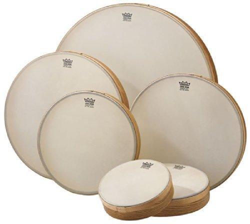REMO Frame Drum Renaissance 8', Rahmentrommel, Pretuned, Handtrommel für Drum Circle