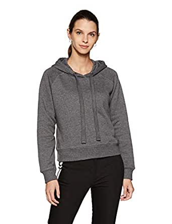 Amazon Brand - Symbol Women's Sweatshirt (AW18WNSSW06A_Anthra Mel_X-Small)