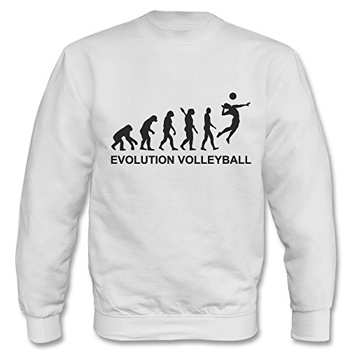 Pullover - Evolution Vollyball Weiß