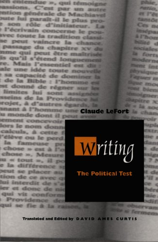 Writing: The Political Test (Post-Contemporary Interventions)