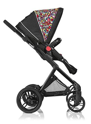 Brevi 770-345 presto offroad passeggino, multicolore su telaio nero