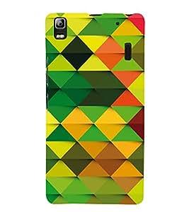 Colourful Pattern 3D Hard Polycarbonate Designer Back Case Cover for Lenovo A7000 :: Lenovo A7000 Plus :: Lenovo K3 Note
