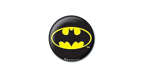 Pritties Accessories Echte DC Comics Batman Retro Logo Taste Abzeichen Stift