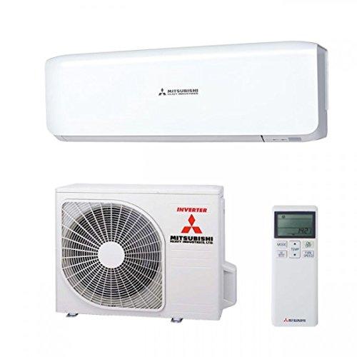 Split Klimaanlage Mitsubishi Heavy Inverter Klimagerät 2,0 kW SRK 20 ZS-W/SRC 20 ZS-S (Split Mitsubishi Luft)