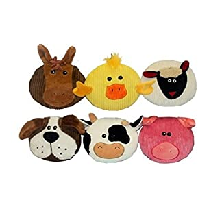 Multi Pet Sub-Woofers Assorted Styles Dog Toy 7in 41OywSsAD7L