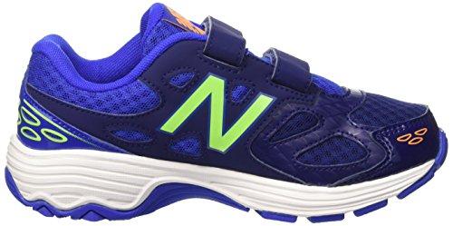 New Balance Nbkv680tbp, Pompes à plateforme plate garçon Bleu (Bleue Green)