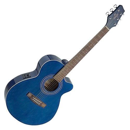 Stagg SA40MJCFI-TB Guitarra Electro acústica