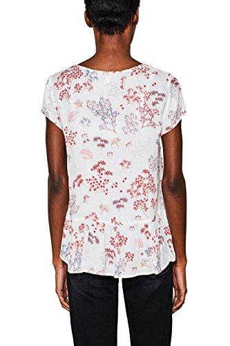 Esprit Blouse Femme Multicolore (Off White 110)