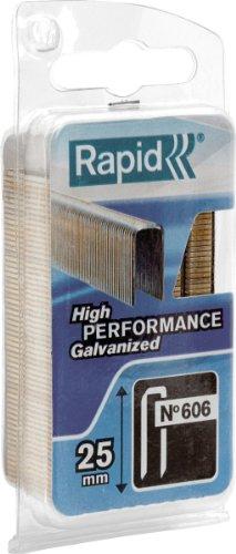 Heftklammern, Für Rapid 606, Rückenbreite: 6,0mm, Länge 25mm, 600Stück