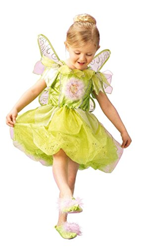 Rubies 3 883685 M - TinkerBell Platinum Größe M (5-6 Jahre) (Kostüm Fancy Tinkerbell Dress)