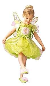 Rubies 3 883685 M - Disfraz infantil de campanilla (5-6 años)
