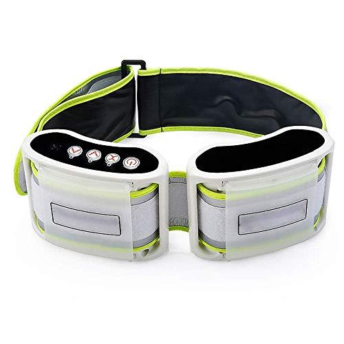 EEKUY Elektro-Body Shaper Gürtel, Fat Burning Gürtel Bauchmassage, Toning Gürtel für Slender getönten Bauch Muskeln Massage Fitness Gürtel