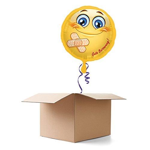 PARTY DISCOUNT ® Ballongruß - Ballongrüße Gute Besserung, 1 Ballon