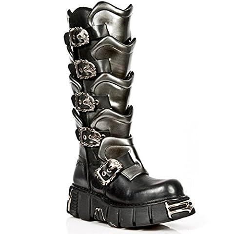 New Rock Boots Hommes Botte - Style 738 S1 Noir 42 EU