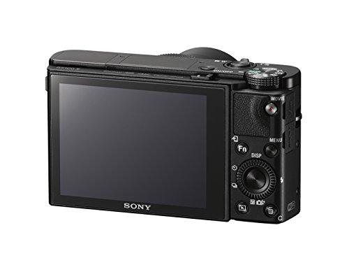 """Sony DSC-RX100M5 Fotocamera Digitale Compatta Cyber-shot, Sensore CMOS Exmor RS da 1"""" e 20,1 Megapixel, Obiettivo Zeiss Vario-Sonnar T* con Zoom Ottico 2,9x, Nero"""