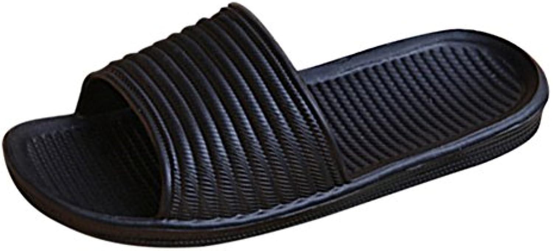Herrenschuhe Pantoffeln Hausschuhe Sandale Badeschuhe Strandschuhe Gästeschuhe Rutschfest Sommer Gr. 43 44