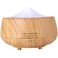 Elettrico umidificatore a ultrasuoni Cool Mist Umidificatore per casa, Yoga, Ufficio, Spa, Camera da letto, Baby Room, plastica, Multi, 250