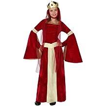 Atosa - Disfraz de medieval para niña, talla 104 cm (8422259158769)