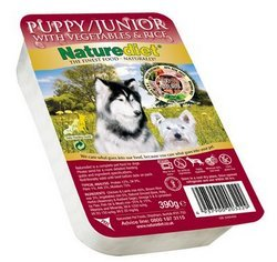 Naturediet Puppy/Junior Dog Food 390g X 6 from Naturediet
