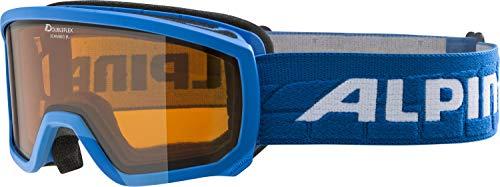 Alpina Kinder Scarabeo DH Skibrille, blau (Lightblue), One Size
