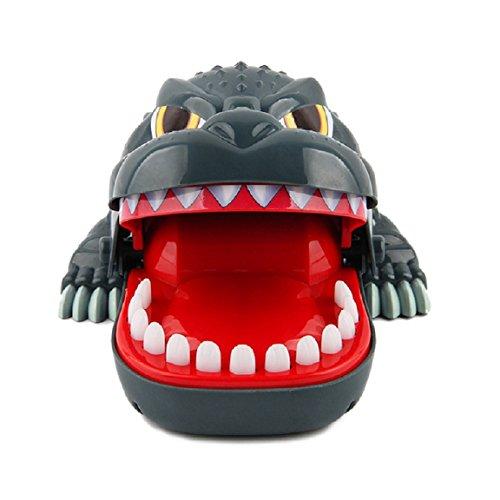 Axibi Spaß Dinosaurier Biss Finger ziehen Zähne Spiel Kinder Kind Spielzeug Geschenk Streich Spielzeug (18 Mos Altes Spielzeug)