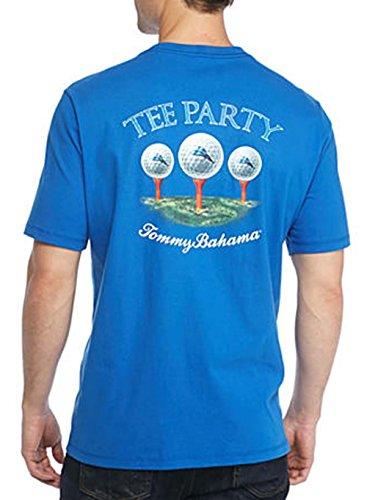 Tommy Bahama Party Tee XXS Cobalt Glass T-Shirt