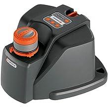 Gardena 8133-20 Regner AquaContour Comfort automatic, Vielflächenregner, einfache Programmierung (Beregnete Fläche 0 – 350m², Reichweite 2,5 - 10,5m Bewässerungssektor 25 - 360°) für große Flächen