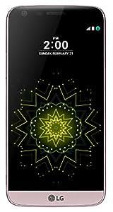 "LG G5 Smartphone da 32 GB, 5.3"" QHD, 4G LTE, Fotocamera da 16 MP e 8 MP, 4 GB RAM, Rosa [Italia]"