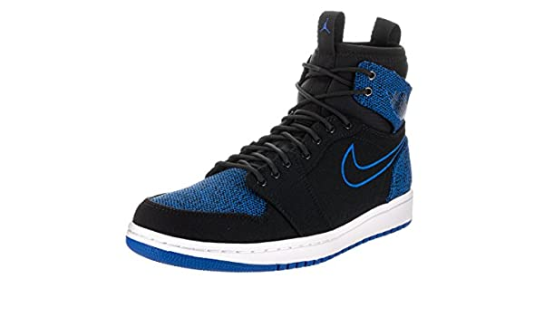 Nike Jordan Men s Air 1 Retro Ultra High Black Sport Royal Black White  Basketball Shoe 8.5 Men US  Buy Online at Low Prices in India - Amazon.in c8525c0626