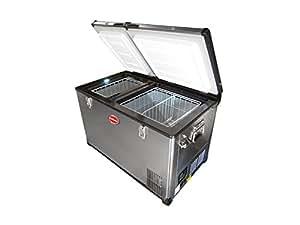 SnoMaster 66l Double Door Refrigerator/Freezer