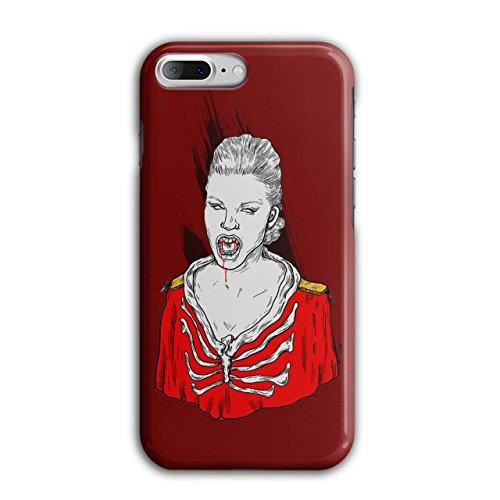 Blut Vampir Cool Horror Mädchen schaurig iPhone 8 Plus Hülle | (Sachen Und Zubehör Blut Vampir)