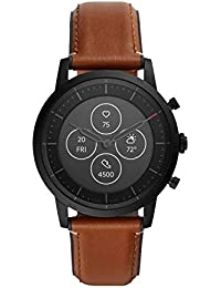 Fossil Collider Hybrid Hr Smartwatch Black Dial Men's Watch - FTW7007