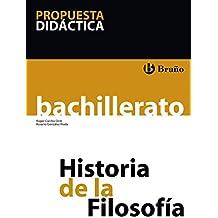 Historia de la Filosofía Bachillerato Propuesta didáctica
