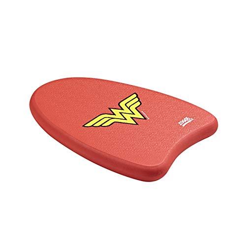 Zoggs Mädchen Wonderwoman-Mini Kickboard Schwimmlernhilfe, Red, One Size - Wonder Woman Mini