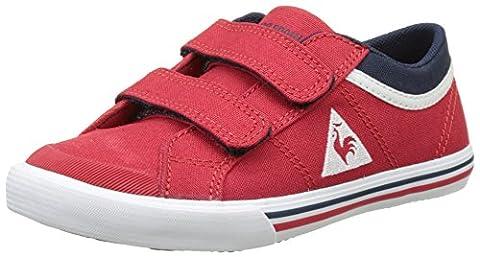 Le Coq Sportif Saint Gaetan Ps Cvs, Basses Mixte Enfant, Rouge (Vintage Red/Dress Bl), 32 EU