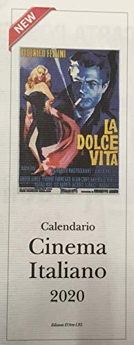 Poster Calendario 2020.Calendario 2020 Cinema Italiano Formato 13 5 X 34 Cm