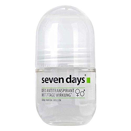 seven days® Deo Antitranspirant Roll On gegen starkes Schwitzen & Schweißgeruch, 50ml (Nicht-deo-antitranspirant)