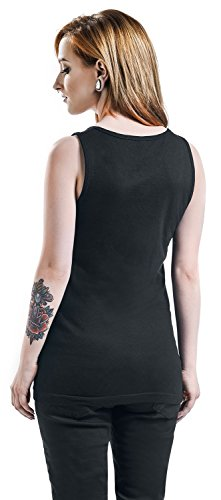 Callejon Fandigo Girl Top donna nero Nero