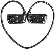 سماعات بلوتوث لاسلكية HYC-901 IPX8 مقاومة للماء للسباحة مع ميكرفون 16 جيجا مشغل MP3 مع بلوتوث