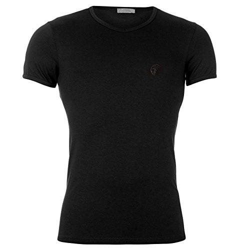 versace-collection-versace-herren-kurzarm-v-ausschnitt-t-shirt-top-shirt-schwarz-l