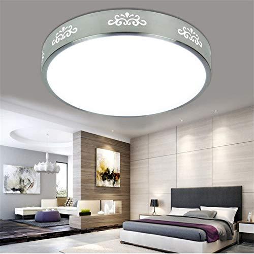 26cm wasserdichte LED Deckenleuchte Runde dünne LED Deckenleuchten Badezimmer Deckenleuchte Flush Deckenleuchte, 12w, 02 -
