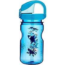 Nalgene Trinkflasche Everyday Otf Kids, 0.375l - Botella de agua para bicicletas, color azul