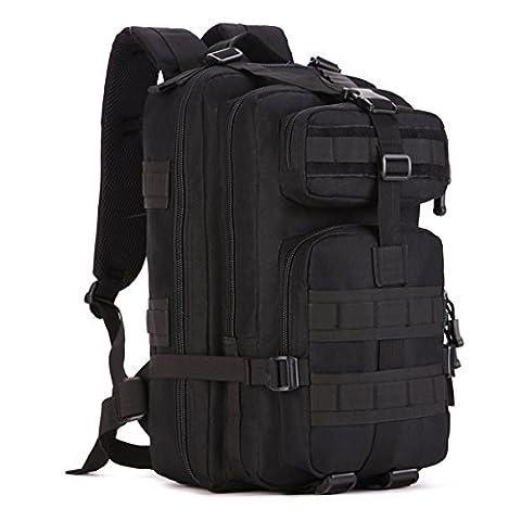 SUNVP Military MOLLE Rucksack Rucksack Tactical Gear Bag 600D Nylon Large Assault Pack Für Jagd Camping Trekking Reisen