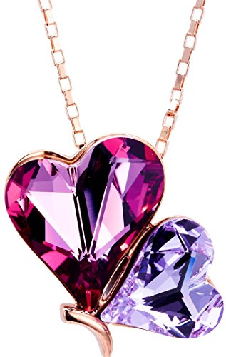 rose-gold-plated-pink-purple-heart-butterfly-swarovski-elements-crystal-pendant-necklace-17